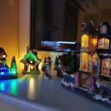 My tiny Christmas town 😍🎄🏡🎅 #nofilters #christmastime #myxmas #xmastree #tiny #x