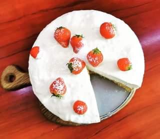 Emty fridge time – aka quarantine 😀🤔😷😍🍰 #cheesecake #cake #recipe #cheeselover #