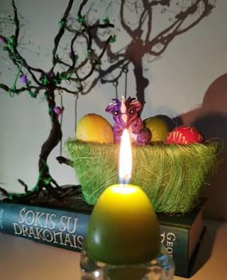 Easter magic is coming! 😀🐲✨ #mycrafts #got #magic #gameofthrones #happyeaster #d